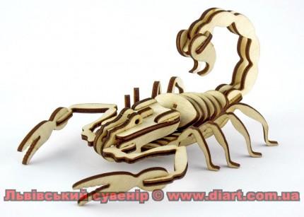 Скорпіон тридешка