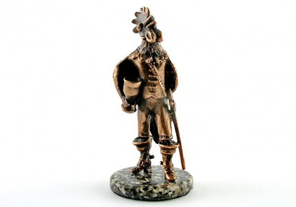 Півень - статуетка з олова