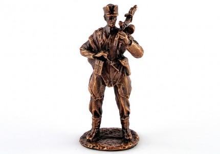 Хорунжий - статуетка з олова