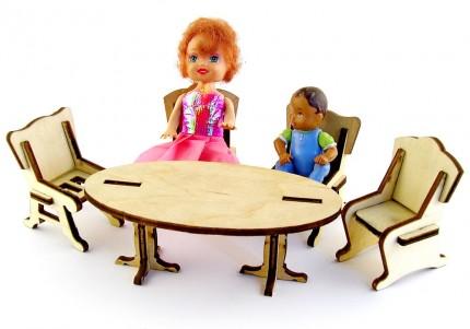 Кухня - лялькові меблі