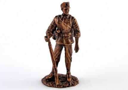 Старшина УПА - статуетка з олова