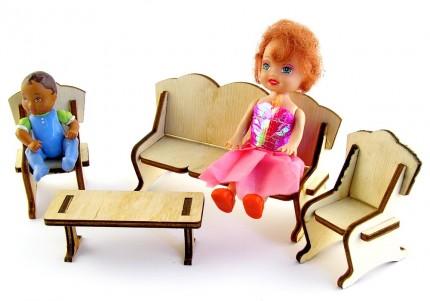 Вітальня - лялькові меблі